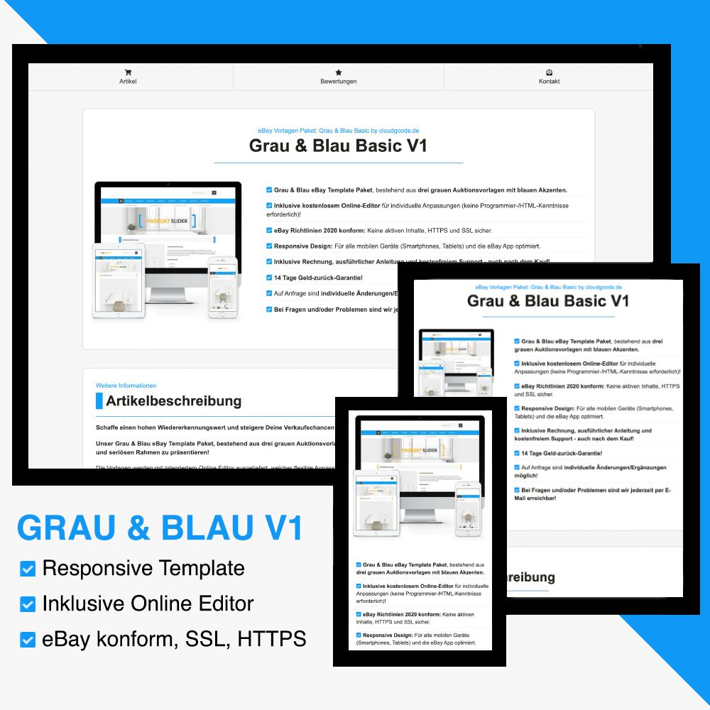 Grau & Blau Basic V1