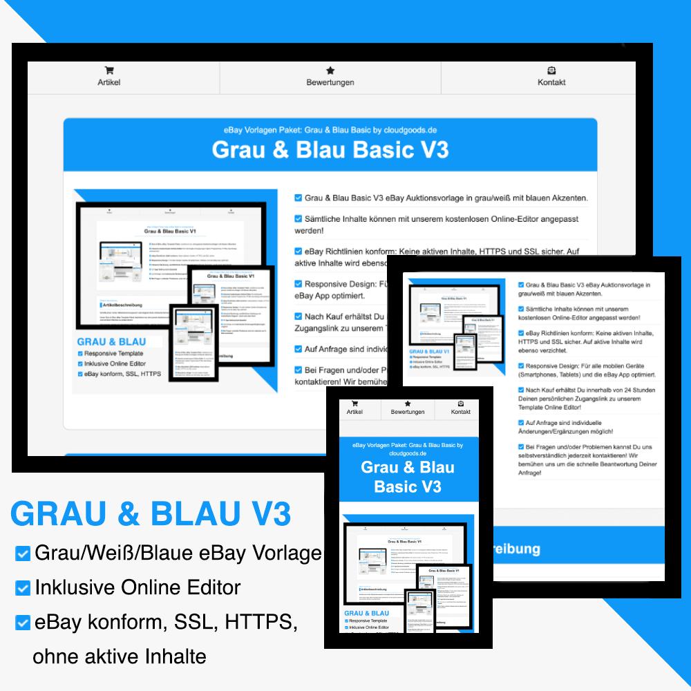 Grau & Blau Basic V3